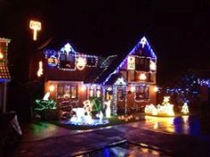 Christmas lights Hedge End
