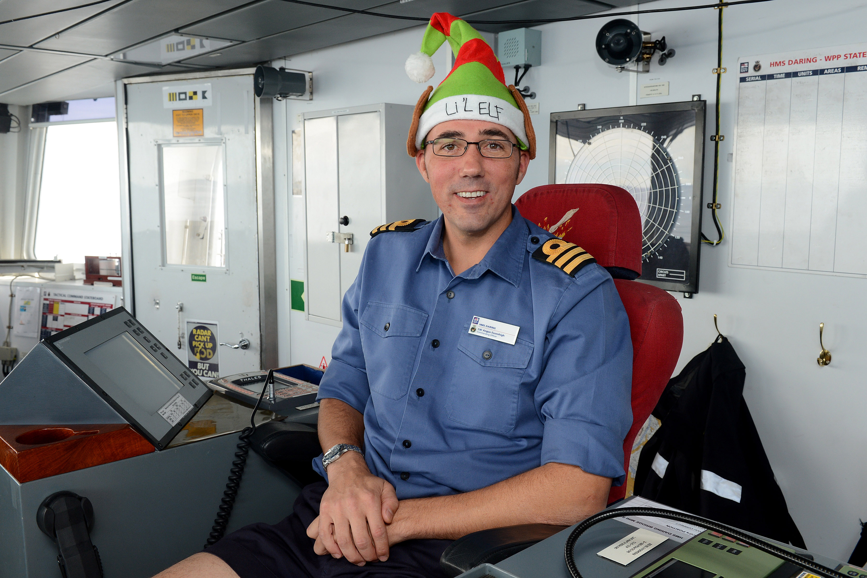 Essenhigh HMS Daring Christmas