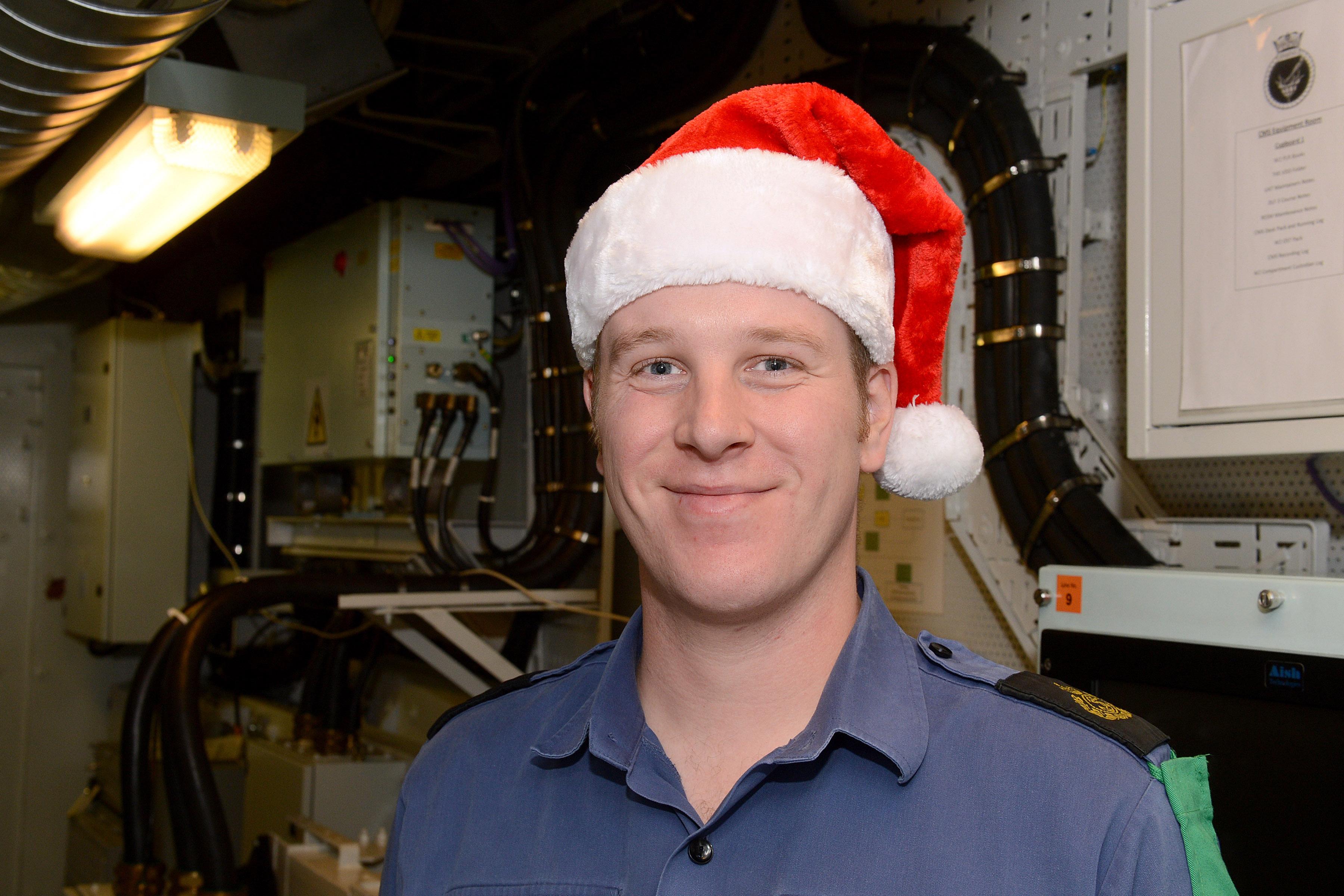 Woods HMS Daring Christmas