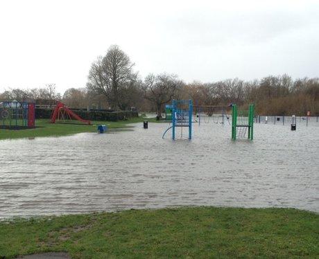 Flooding in Fordingbridge