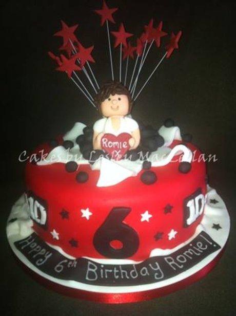 Celebrities Immortalised In Cake Heart