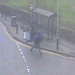 Soham Cash Box Robbery CCTV