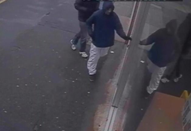 Christchurch robbery CCTV