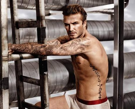 David Beckham in his pants for H&M advert