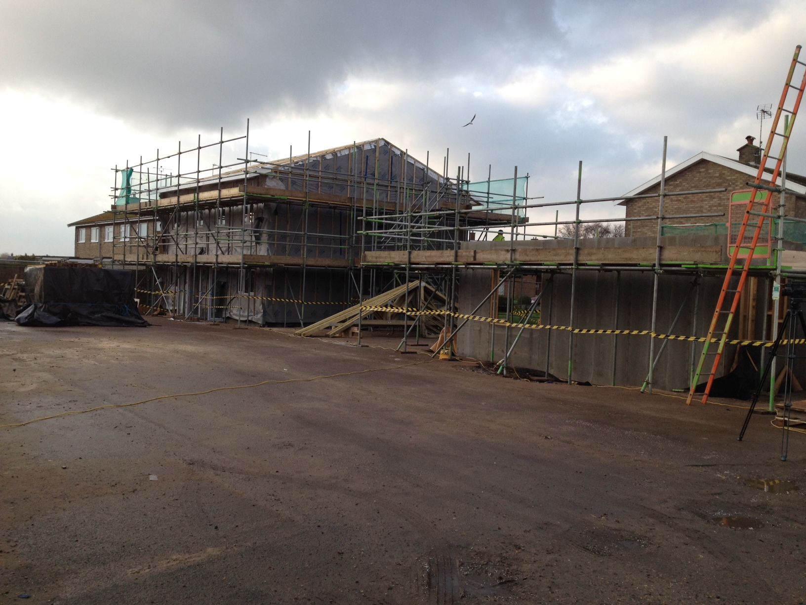 Great Yarmouth Construction Site