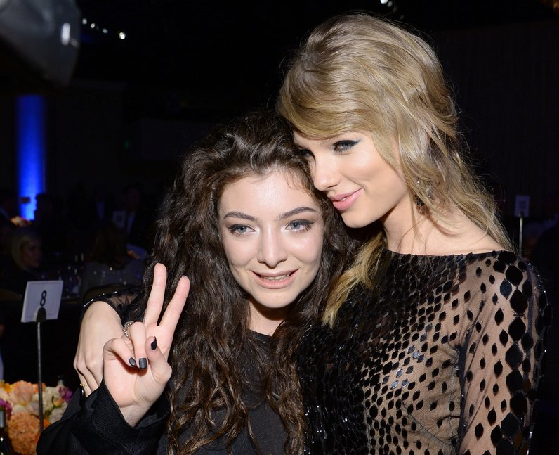 lorde and taylor swift