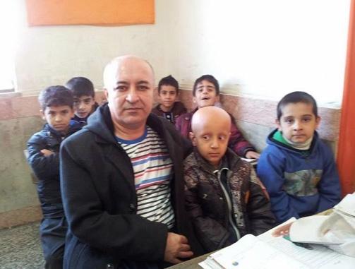 Ali Mohammadian teacher of shaved head for bullied