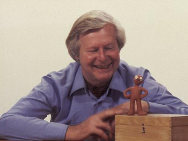 Tony Hart and Morph