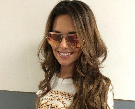 cheryl cole wearing sunglasses
