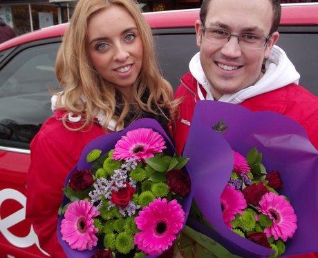 Heart Angels: Surprise Valentine's Day Flower Deli