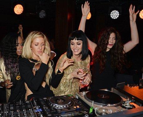 Angel Haze, Ellie Goulding, Katy Perry and Lorde