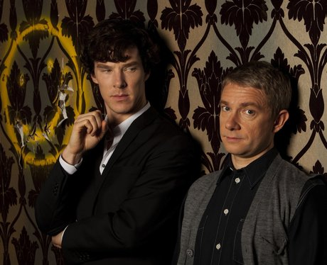 Benedict starring in Sherlock as the lead role.