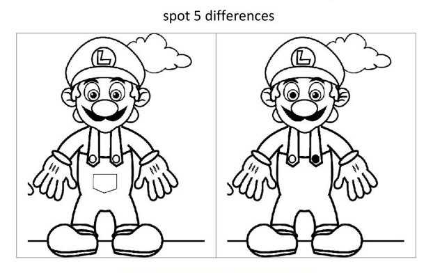 Pics Photos - Spot The Difference Game Plus A Dot 2 Dot Picture And ...