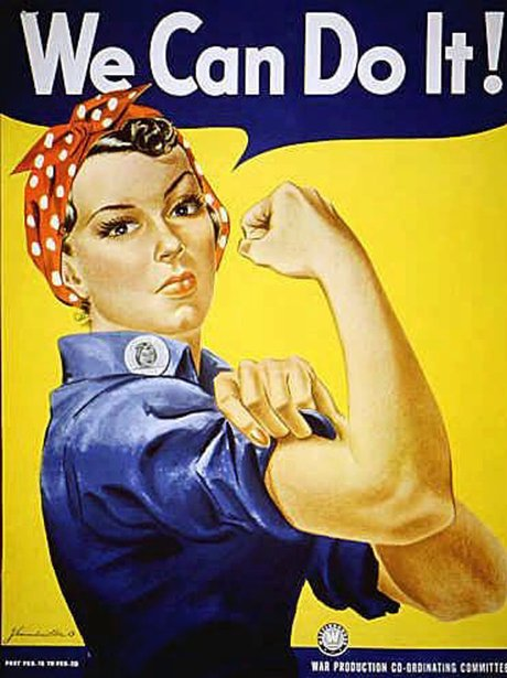 We Can Do It WWII Poster