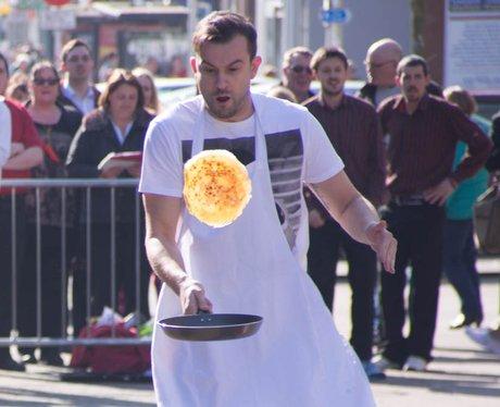 Lowestoft Pancake Race 2014