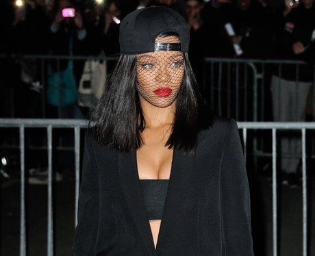 Rihanna at Paris Fashion Week