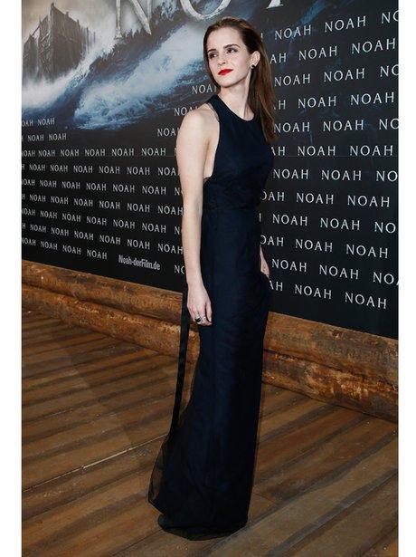 Emma Watson in floor length dress