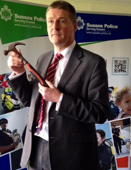Bosham murder hammer Nick May