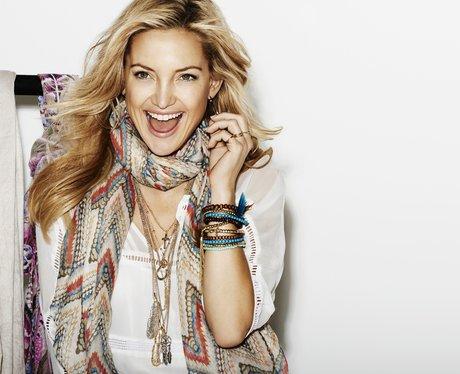 Kate Hudson models for Lindex