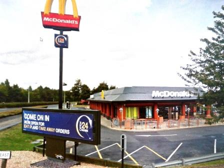 McDonalds Peterborough