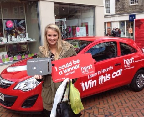 Vauxhall Corsa Sting Car Giveaway Day Two