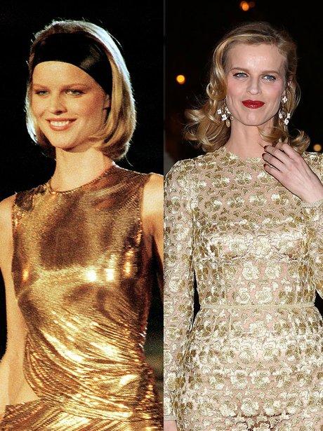 Eva Herzigova then and now