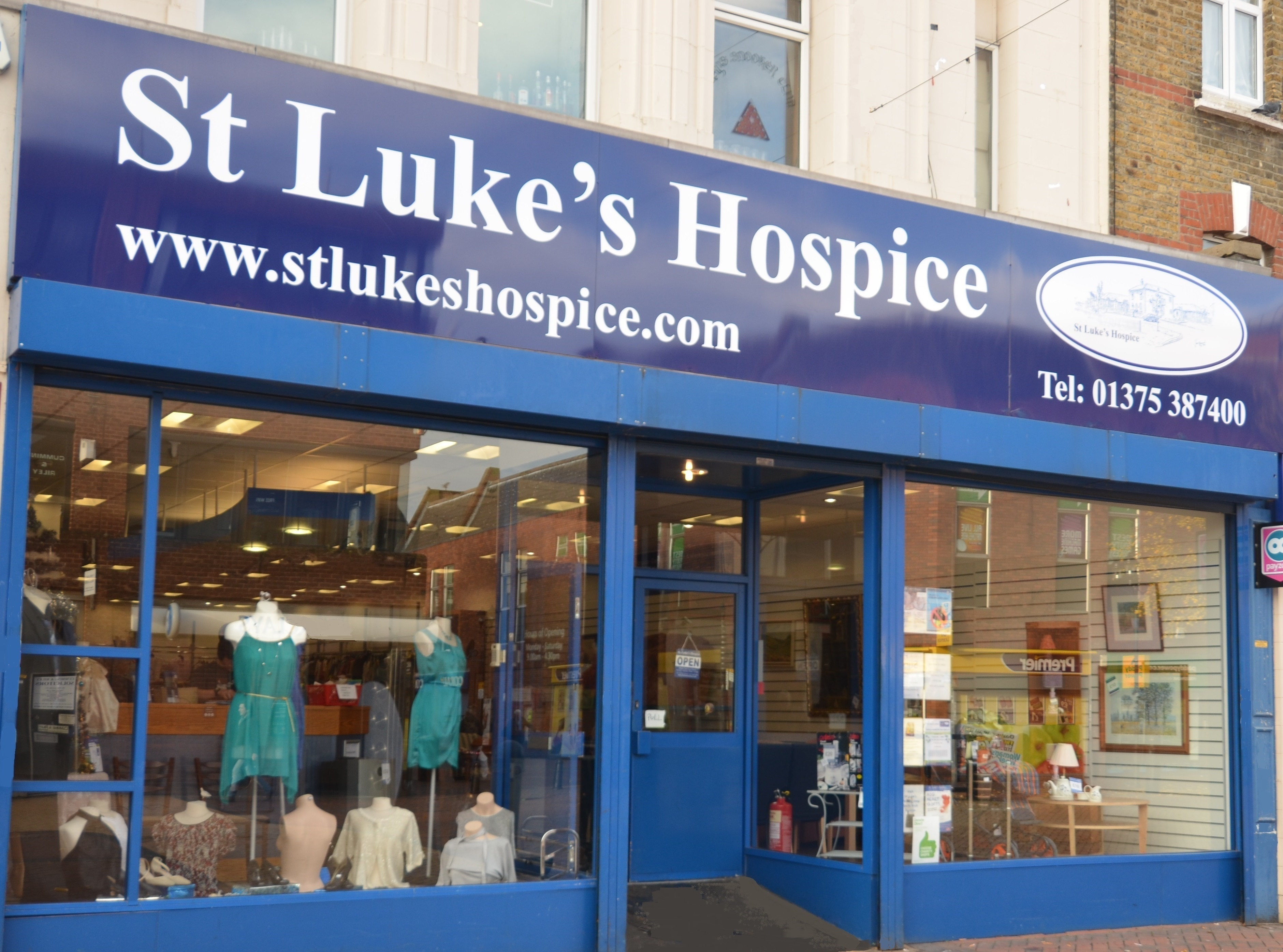 St Luke's Charity Shop Grays