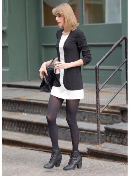 Taylor Swift wearing a Jacket Dress