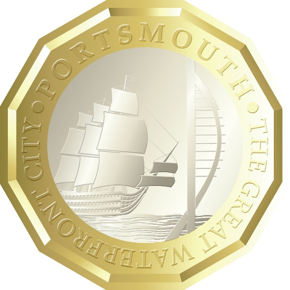 Portsmouth pound coin