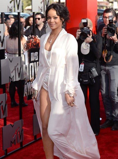 Rihanna at the MTV Movie Awards 2014