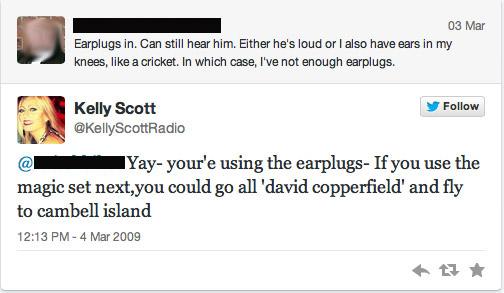 North East Kelly Scott First Tweet