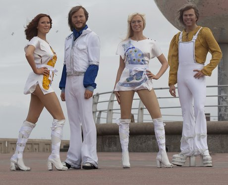 ABBA Waxworks Madame Tussauds Blackpool