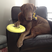 Image 5: A dog holding a frisbee