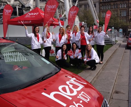 The Heart Angels in Piccadilly Gardens