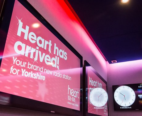 Heart Yorkshire Launch