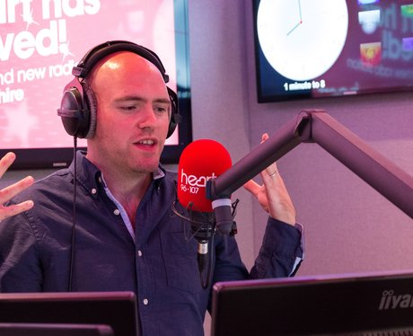 Dixie during the breakfast show