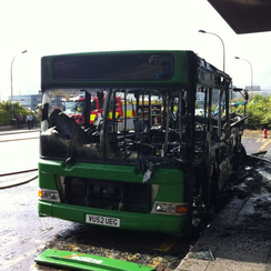 Milton Keynes Bus Fire