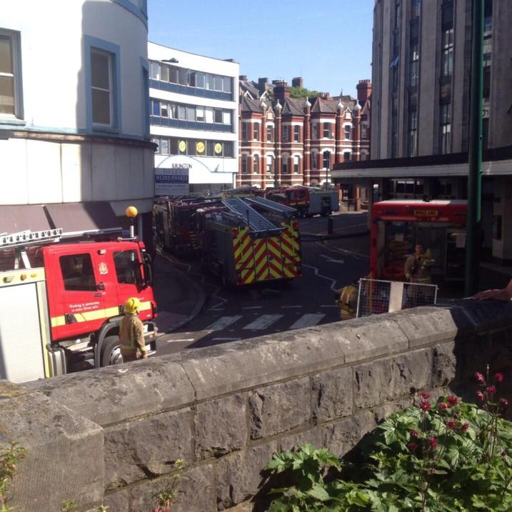 Bournemouth flats fire