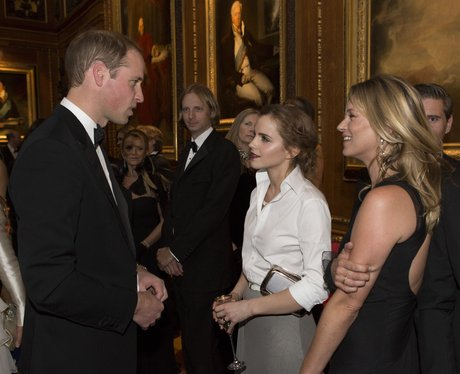 The Duke Of Cambridge Emma Watson and Kate Moss