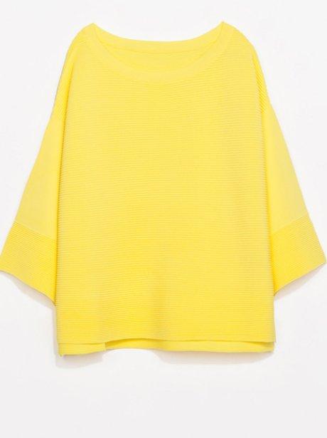 Zara yellow jumper
