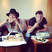 Image 3: Myleene Klass and Mark Wright Eating