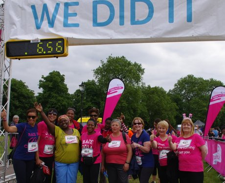 Clapham Race For Life 2014