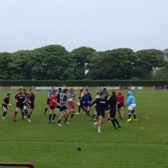 Cornwall Rugby Club training