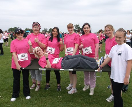 Swindon Race for Life Happy The Ladies 2014