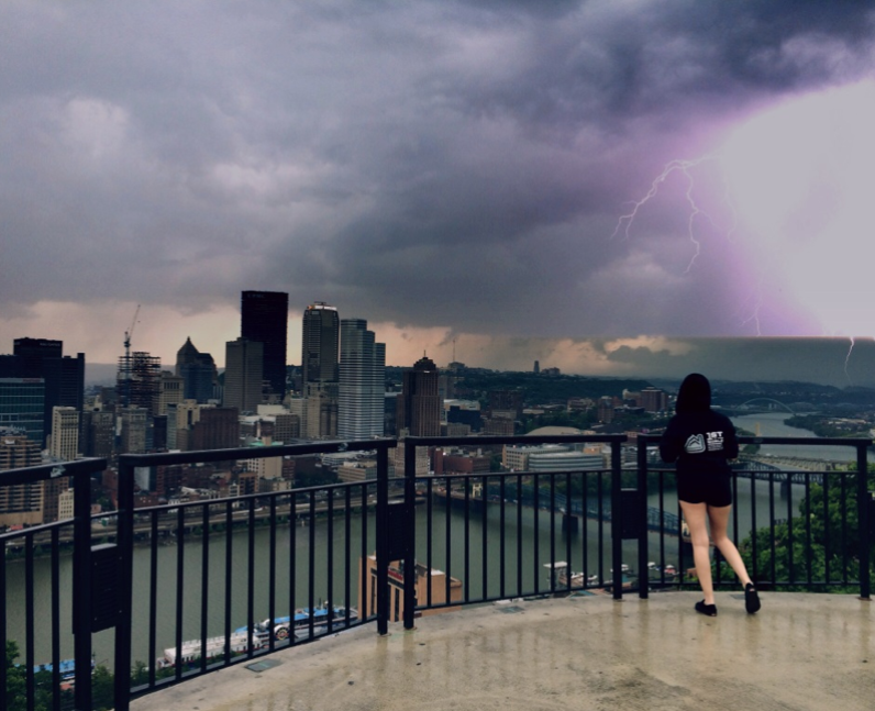 A storm in Pittsburgh
