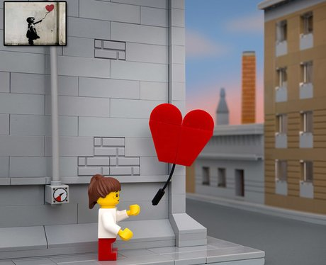 Banksy Lego By Jeff Friesen