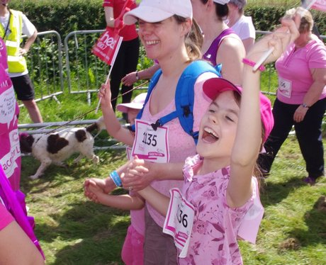 Ladies of Race for Life Stratford