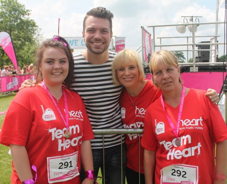 Sunday Swindon Race for Life The Finishers 2014