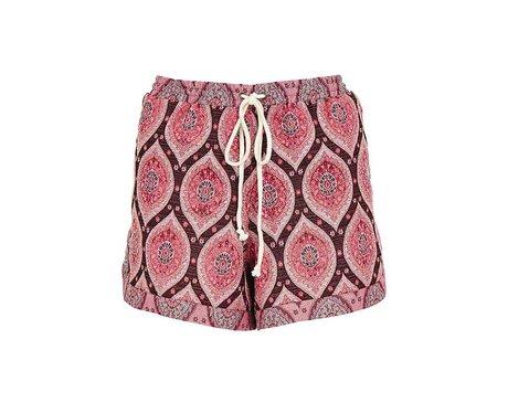 ASOS Tall Shorts in Summer Paisley
