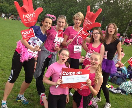 Battersea Race For Life 2014